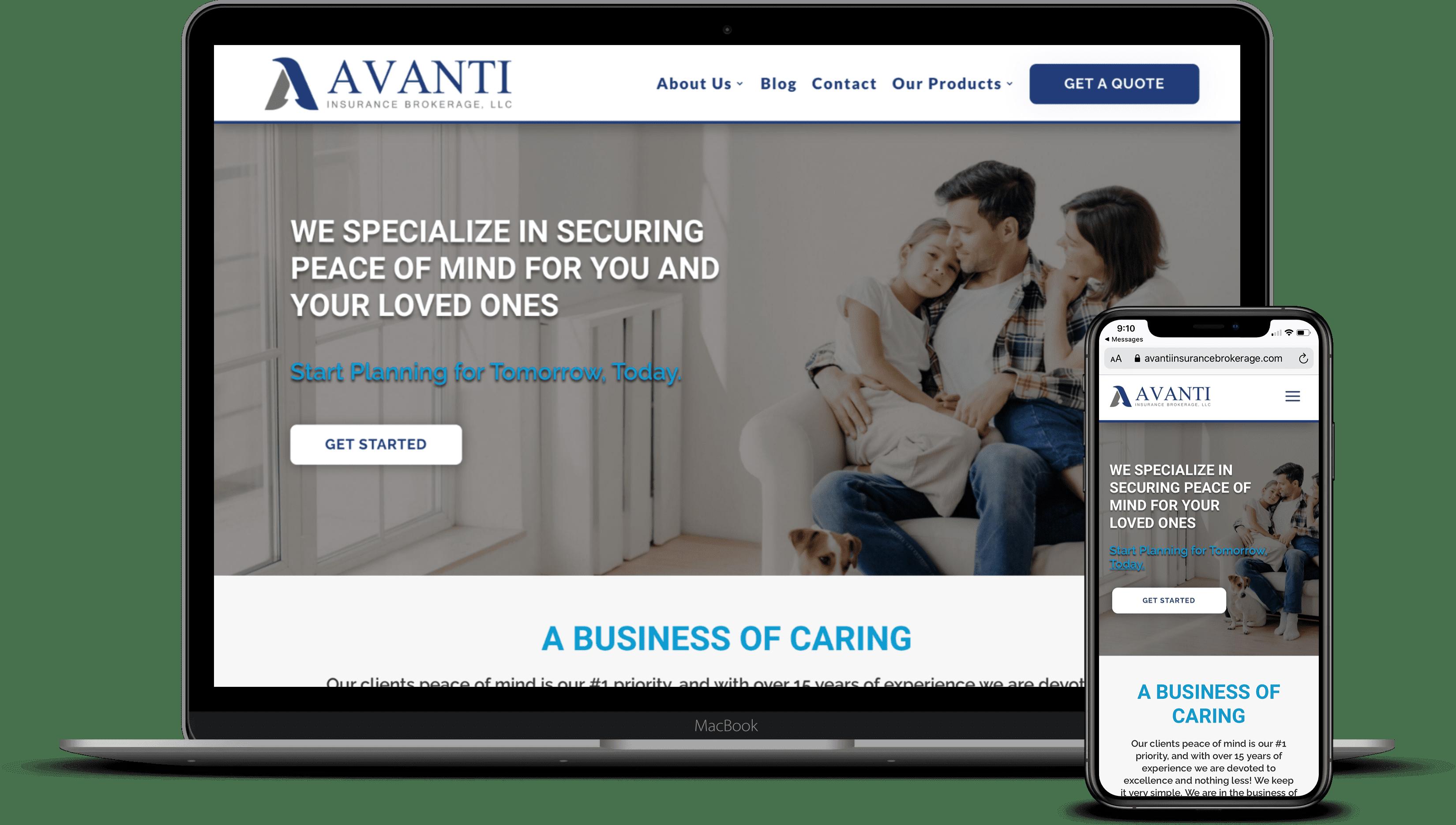 Avanti Insurance Brokerage